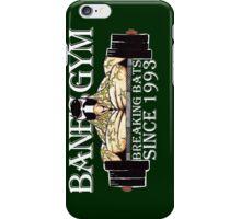 BANE'S GYM iPhone Case/Skin