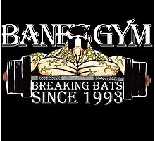 BANE'S GYM Photographic Print