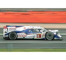 Toyota WEC Hibrid racing car Photographic Print