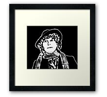 Tom Baker Framed Print