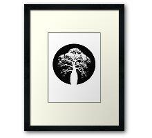 Bottle Tree Framed Print