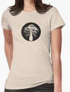 Bottle Tree Womens Fitted T-Shirt