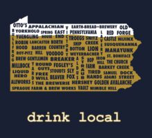 Drink Local (PA) T-Shirt