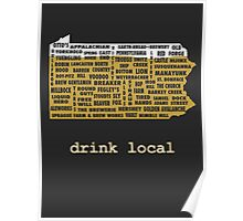 Drink Local (PA) Poster