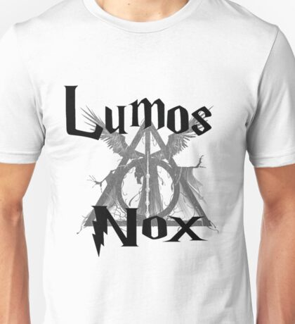 Harry Potter Lumos Nox  Unisex T-Shirt