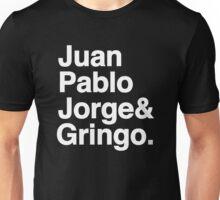 Mexican Beatles Juan Pablo Jorge Gringo Unisex T-Shirt
