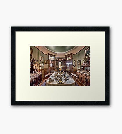 Dunsmuirs Dinning Room Framed Print