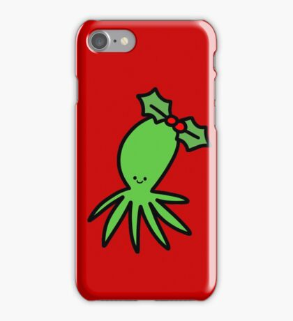 Holly Octopus iPhone Case/Skin