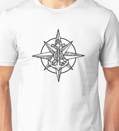 Anchor Rose Unisex T-Shirt