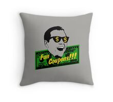 Fun Coupons! The Wolf of Wall Street Throw Pillow