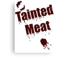 The Walking Dead Tainted Meat Canvas Print