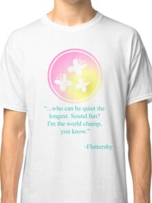 Fluttershy Emblem Classic T-Shirt