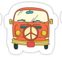 VW van sticker Sticker