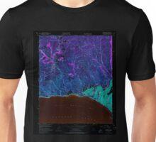 USGS TOPO Map California CA Topanga 300897 1952 24000 geo Inverted Unisex T-Shirt