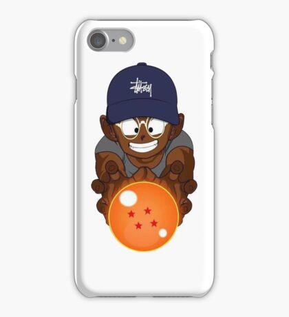 Black Krillin iPhone Case/Skin