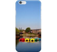 Colours at Exeter Quay iPhone Case/Skin