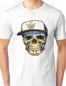 Rap King Skull Unisex T-Shirt