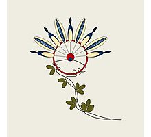 Flower Indians Photographic Print