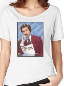 Ron Burgundy - Ribs Women's Relaxed Fit T-Shirt