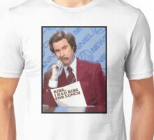 Ron Burgundy - Ribs Unisex T-Shirt