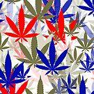 Marijuana Cannabis Weed Pot Independence Day by MarijuanaTshirt