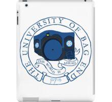 University of Shire iPad Case/Skin
