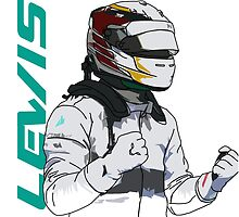 Lewis Hamilton by Tom Clancy