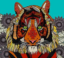 tiger chief by Sharon Turner