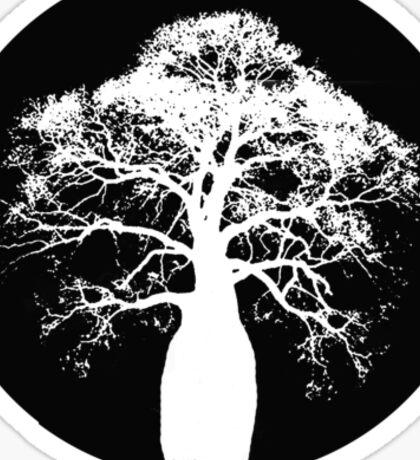 Outback Bottle Tree Sticker