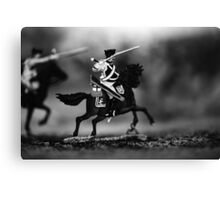 Military game figure Canvas Print
