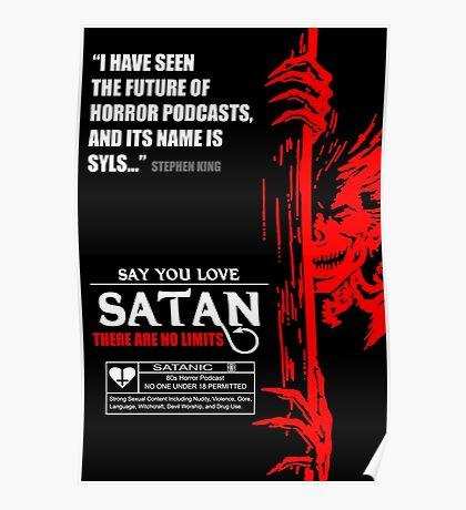 Say You Love Satan 80s Horror Podcast - Hellraiser Poster