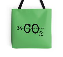Cut CO2 Tote Bag
