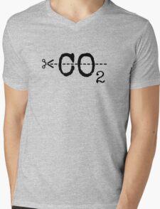 Cut CO2 Mens V-Neck T-Shirt