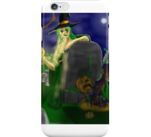 The Witch of the Jack O Lantern Returns iPhone Case/Skin