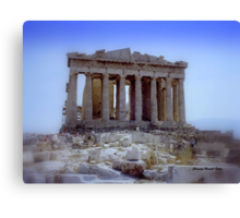 Parthenon 1990 Canvas Print