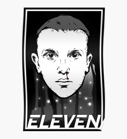 STRANGER THINGS ELEVEN TV SHOW Poster