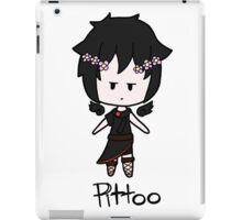 Flower Crown - Dark Pit iPad Case/Skin
