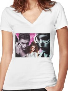 A Dish Best Served Cold Women's Fitted V-Neck T-Shirt