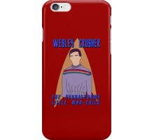 Wesley Crusher - Troublesome Man-child - Star Trek the Next Generation iPhone Case/Skin