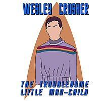 Wesley Crusher - Troublesome Man-child - Star Trek the Next Generation Photographic Print