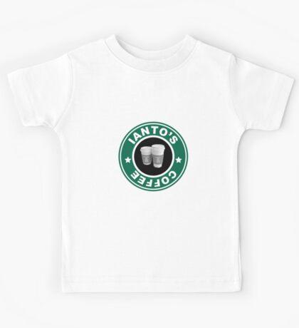Torchwood- Ianto's Coffee Kids Tee
