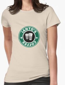 Torchwood- Ianto's Coffee Womens Fitted T-Shirt