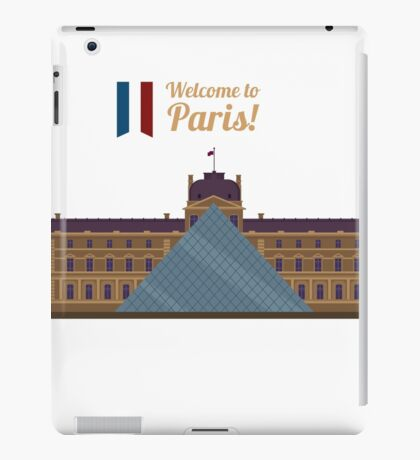 Paris Travel. Famous Place - Louvre iPad Case/Skin