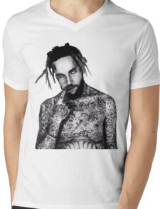 Yung Scarecrow Mens V-Neck T-Shirt