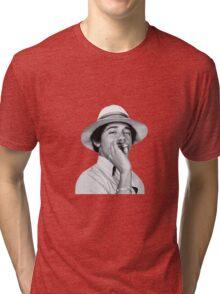 Barack Obama Smoking Weed Tri-blend T-Shirt