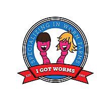 I Got Worms Photographic Print