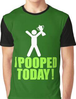 I Pooped Today Emoji T-shirt Cool Poop Emoticon Tshirt Graphic T-Shirt