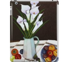 Still life with Callas iPad Case/Skin
