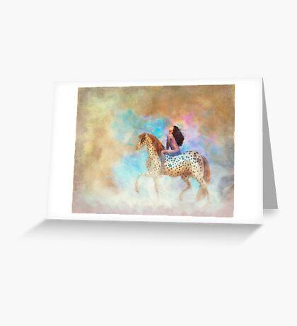 Lady Godiva Greeting Card