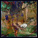 My Precious kitty in a abstract  by Sherri     Nicholas